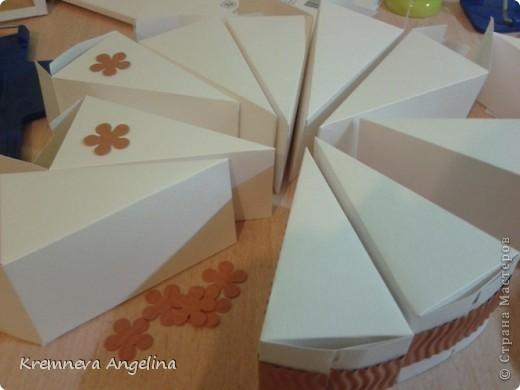 Тортик делали вместе с мамой на день рождения :) Идея http://stranamasterov.ru/node/363091?c=new фото 3