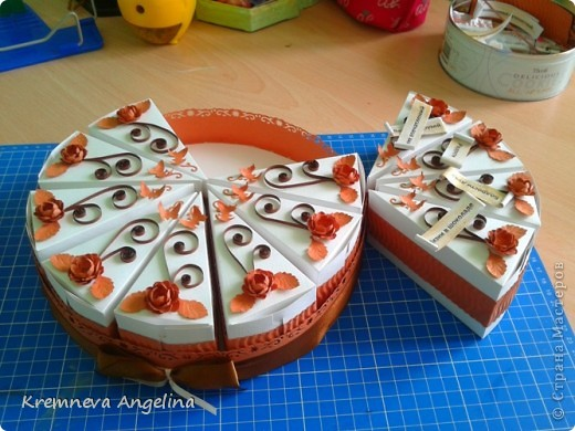 Тортик делали вместе с мамой на день рождения :) Идея http://stranamasterov.ru/node/363091?c=new фото 5