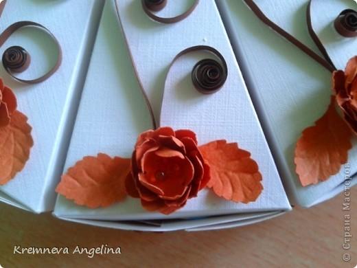 Тортик делали вместе с мамой на день рождения :) Идея http://stranamasterov.ru/node/363091?c=new фото 6