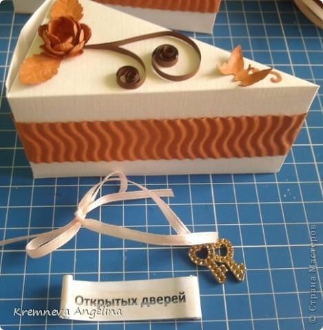 Тортик делали вместе с мамой на день рождения :) Идея http://stranamasterov.ru/node/363091?c=new фото 11