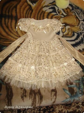 Детское платье для племянницы. фото 1