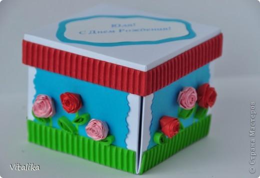Такой коробочкой поздравила одну замечательную девушку. фото 3