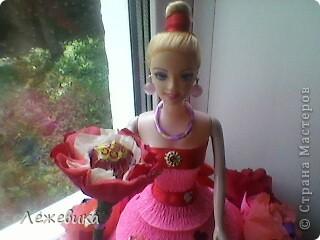 Все доброго времени суток! Вот такая сладкая куколка получилась у меня, подарок на день рождения маленькой принцессе. За МК спасибо Свет9 ( http://stranamasterov.ru/node/229886 ). фото 3