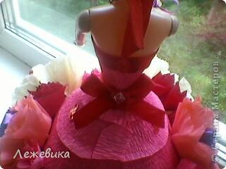 Все доброго времени суток! Вот такая сладкая куколка получилась у меня, подарок на день рождения маленькой принцессе. За МК спасибо Свет9 ( http://stranamasterov.ru/node/229886 ). фото 4