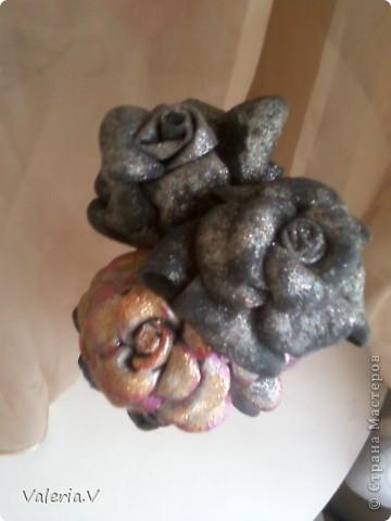 Розы из кожи! фото 2