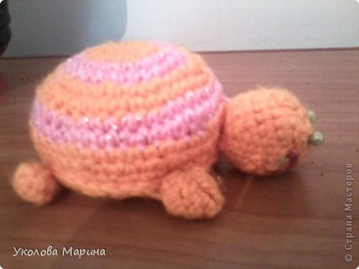 Черепашка игрушка-игольница фото 2