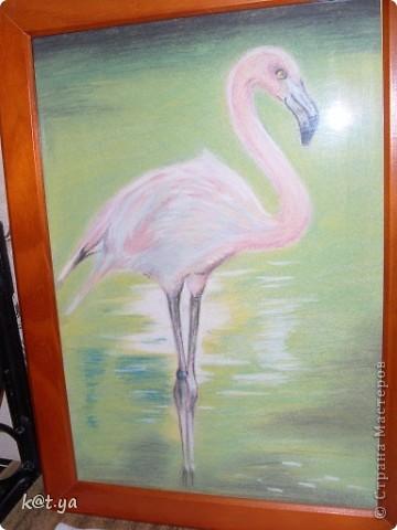 Я не проффесиональный художник и никаких худ. школ неоканчивала, но надеюсь Вам понравятся мои работы. Выполнено сухой пастелью... Теплым весенним днем... фото 4