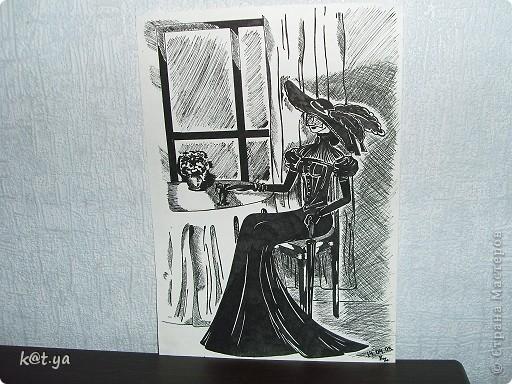 Я не проффесиональный художник и никаких худ. школ неоканчивала, но надеюсь Вам понравятся мои работы. Выполнено сухой пастелью... Теплым весенним днем... фото 9