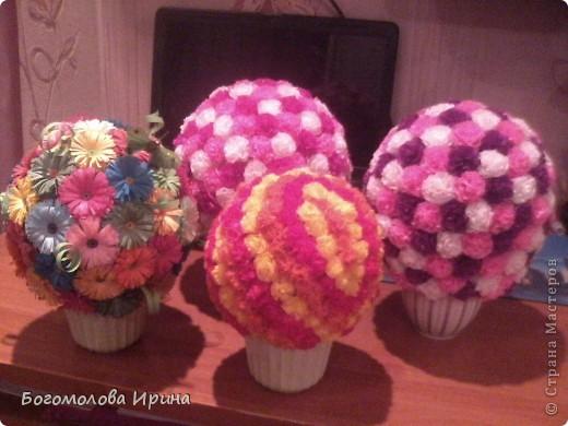 цветочные шарики фото 3