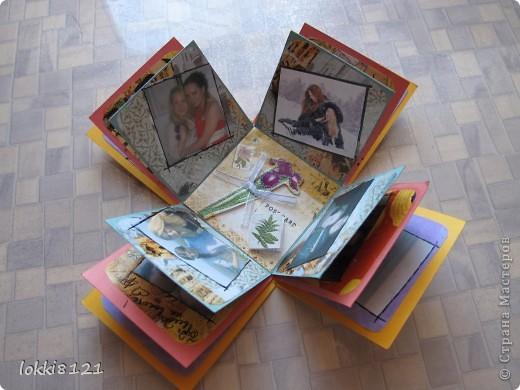 Ура! сделала первую коробочку-сюрприз, уже давно мечтала! (идею именно такой коробочки подсмотрела на просторах интернета) фото 6