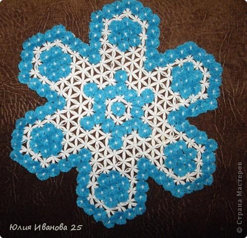 Плетение - Плетеные салфетки на деревянной рамке.