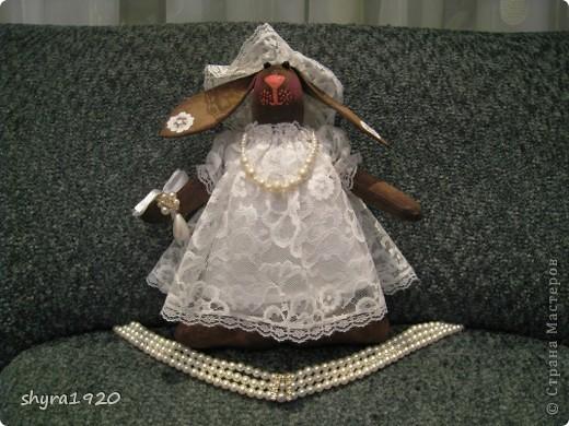 Вот и выставила я последнего зайца из серии Тильда, зайка ароматная: корица, кофе, ванилин. фото 6