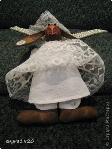 Вот и выставила я последнего зайца из серии Тильда, зайка ароматная: корица, кофе, ванилин. фото 4