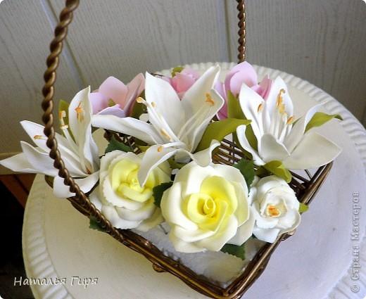 """""""Свежие"""" цветы из фоамирана (пористой резины)"""