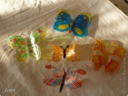 Купила дочку витражные краски... и не много увлеклась:) фото 1