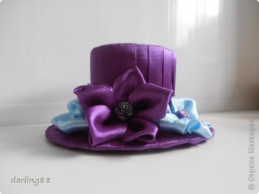 Еще парочка шляпок. Уж очень мне понравился процесс их создания) фото 1