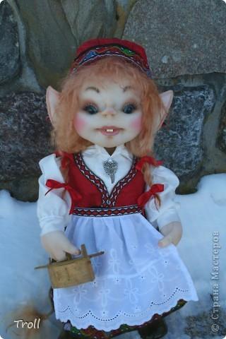Чулочные куклы-тролли фото 3