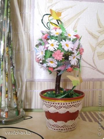 Миниатюрное деревце сделалось накануне Праздника Троицы!  фото 6