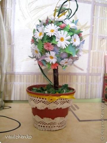 Миниатюрное деревце сделалось накануне Праздника Троицы!  фото 7
