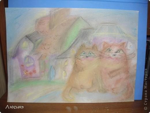 Пробы пастели фото 1