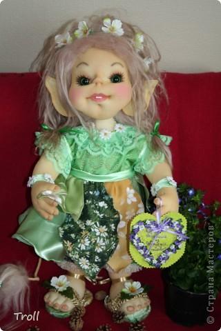 Чулочные куклы-тролли фото 2