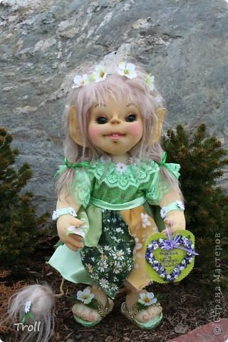 Чулочные куклы-тролли фото 1