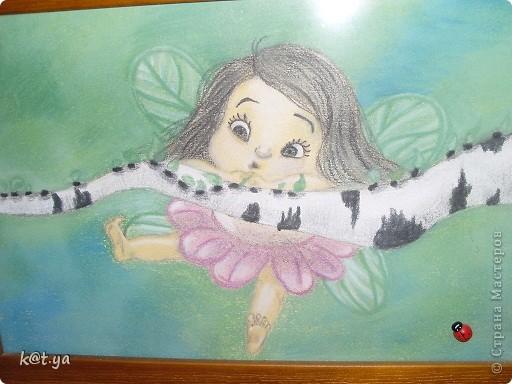 Я не проффесиональный художник и никаких худ. школ неоканчивала, но надеюсь Вам понравятся мои работы. Выполнено сухой пастелью... Теплым весенним днем... фото 3
