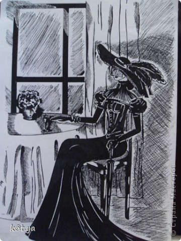 Я не проффесиональный художник и никаких худ. школ неоканчивала, но надеюсь Вам понравятся мои работы. Выполнено сухой пастелью... Теплым весенним днем... фото 8