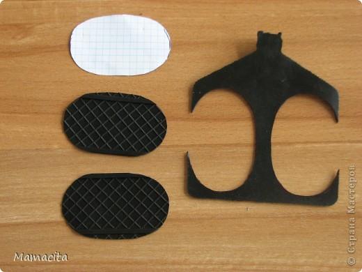Игрушка Мастер-класс Поделка изделие Шитьё Кожаные ботики для куклы МК Клей Кожа Ленты фото 11