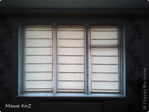 Мои римские шторы в спальне фото 2