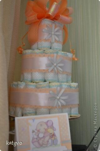 Вот и состряпала я еще один тортик,теперь для девочки. Подруга заказала для своих друзей. фото 1