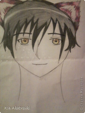 Рисовала моя подруга-анимешница фото 2
