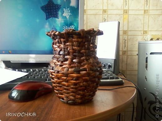 Первое, что попробовала сплести ))) фото 2