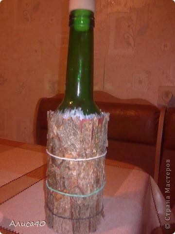 Вот такое оно получилось) Вариации на тему -  топиарий на бутылке) фото 8