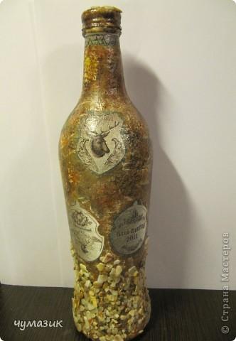 Лицевая сторона первой бутылочки для охотника фото 4