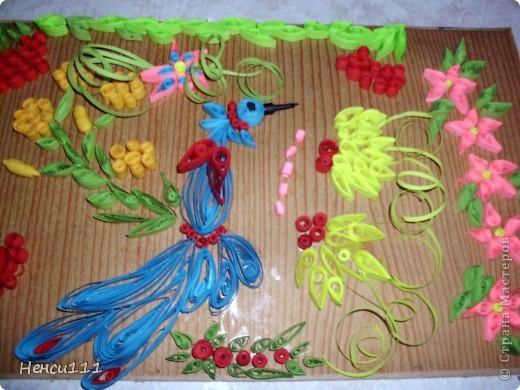 Петриківський роспис в мистецтві квілінг
