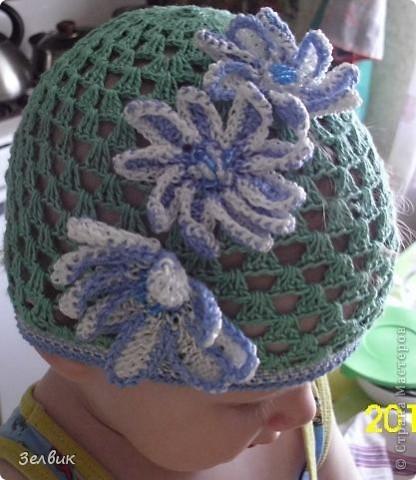 это шапочка для младшей фото 2