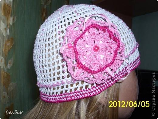 это шапочка для младшей фото 5