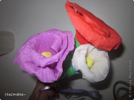Вот такие цветочки у меня получились. фото 1