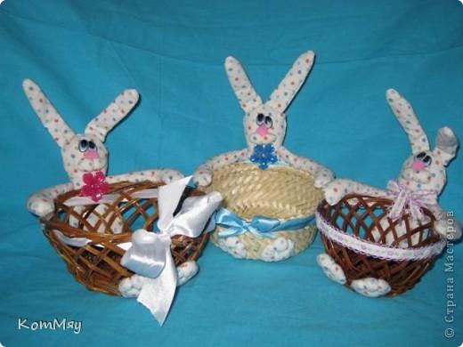 Пошились ещё мои любимые зайцы-конфетницы. Разных размеров, на любой вкус...  Для подарков друзьям...  фото 1