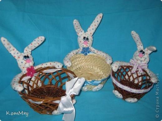 Пошились ещё мои любимые зайцы-конфетницы. Разных размеров, на любой вкус...  Для подарков друзьям...  фото 2
