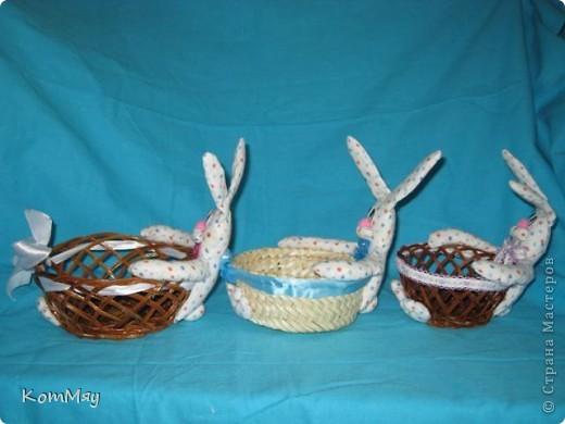 Пошились ещё мои любимые зайцы-конфетницы. Разных размеров, на любой вкус...  Для подарков друзьям...  фото 3