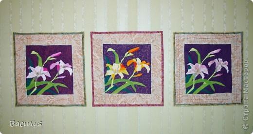 Панно тюльпаны фото 5