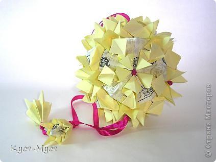 """Всем доброго времени суток! Моя конкурсная работа на """"Бал цветочных кусудам"""". Ну, что могу сказать - в жизни краше, чем на фото! Спасибо там, кто поддердал!  Хотелось чего-то светлого и нежного :)) фото 2"""