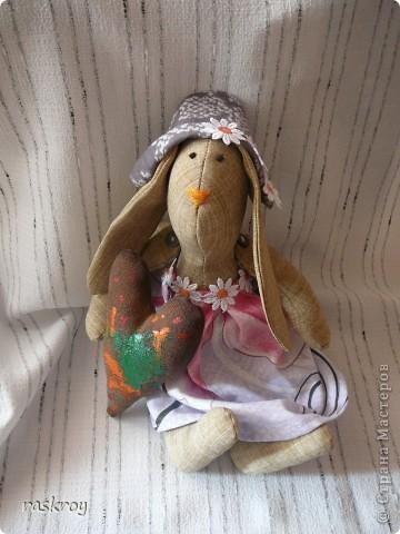 Длинноухий заяц тильда - Глашенька фото 1