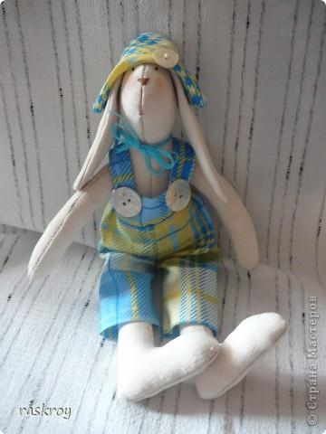 Длинноухий заяц тильда - Глашенька фото 5