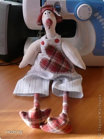 Длинноухий заяц тильда - Глашенька фото 7