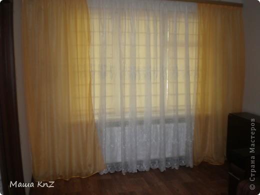 Мои римские шторы в спальне фото 6