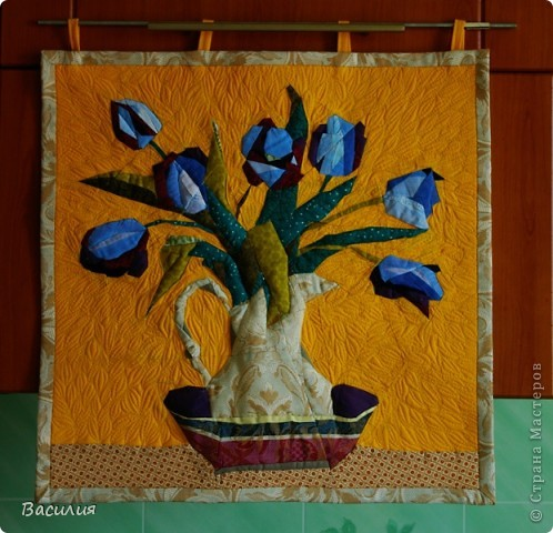 Панно тюльпаны фото 1