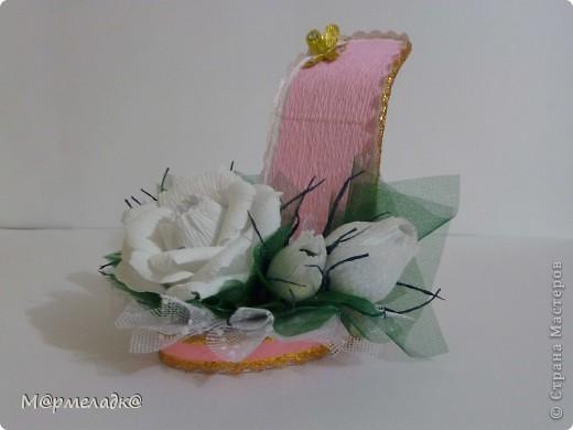 Здравствуйте...и снова пробую обувную тему))) Простите за качество фото. фото 1
